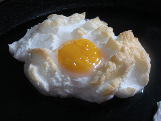 Huevos Nube -
