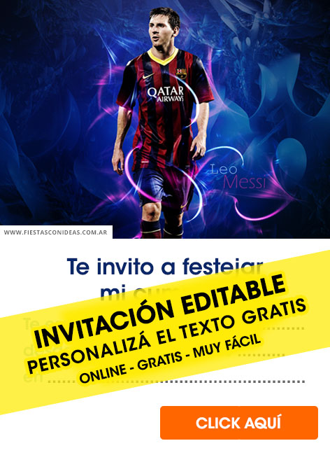 Football birthday invitation