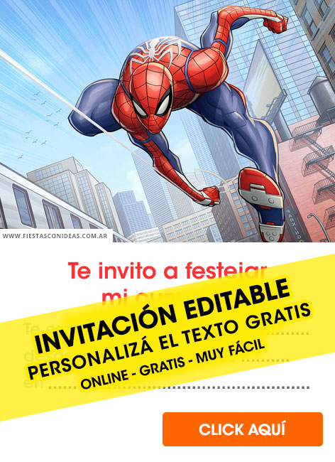 27 Free Spiderman Birthday Invitations For Edit Customize Print