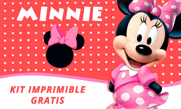 KIT IMPRIMIBLE de MINNIE MOUSE [GRATIS]