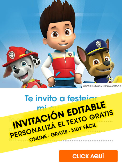 15 Free PAW PATROL Birthday Invitations For Edit Customize Print Or Send Via Whatsapp