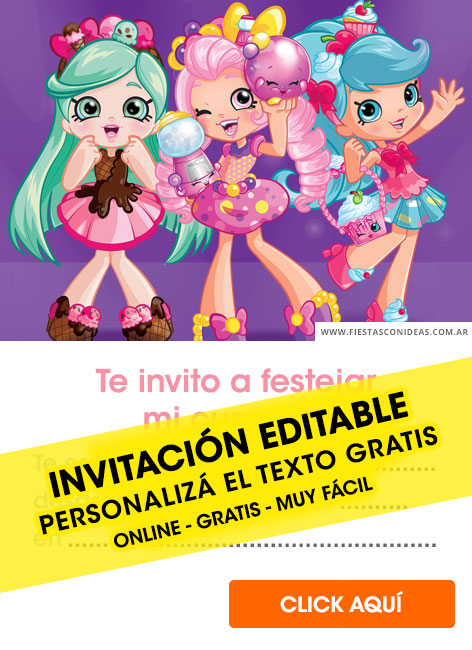 image about Shopkins Invitations Free Printable named 6] Cost-free SHOPKINS birthday invites for edit, personalize