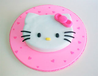 Torta de Hello Kitty paso a paso