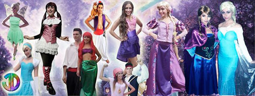Tinkerbell, Raspunzel, Cenicienta, Monster High, Princesa Sofia