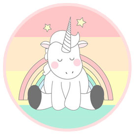 3 Printable unicorn kits