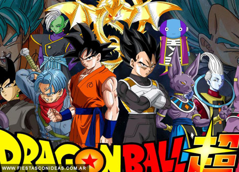 Free Dragon Ball Birthday Invitation