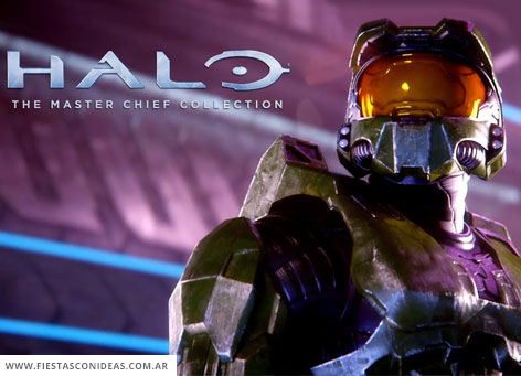 Free Halo Master Chief Birthday Invitation