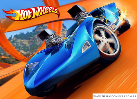 Free Hotwheels Birthday Invitation
