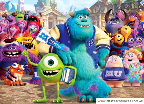 Free Monster University Birthday Invitation