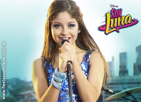 Free Soy Luna / Karol Sevilla Birthday Invitation