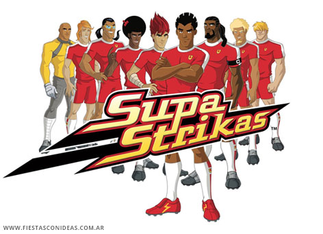 Free Supa Strikas Birthday Invitation