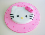Torta de Hello Kitty